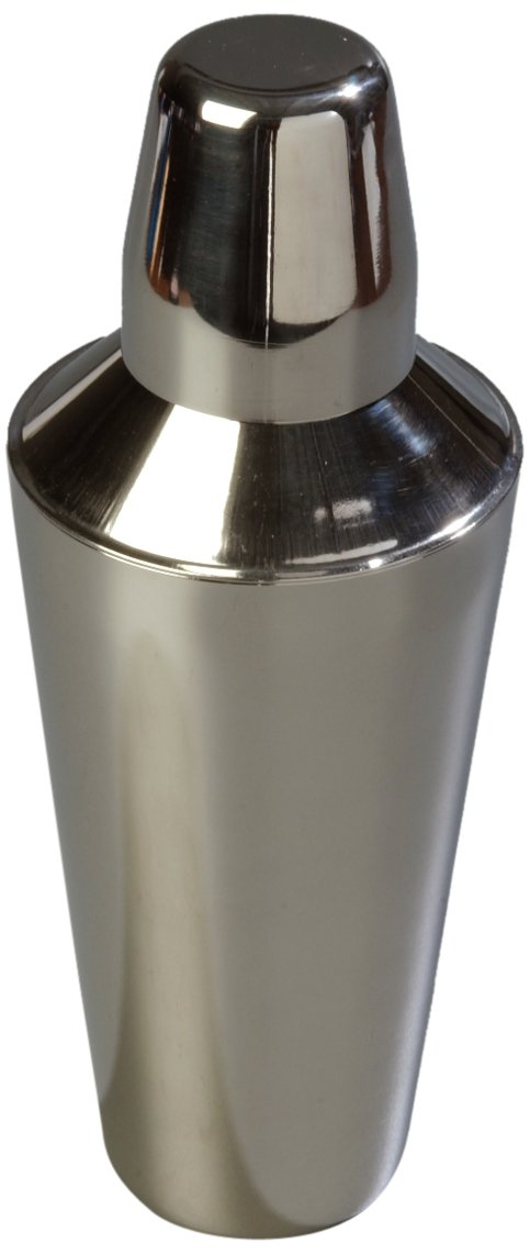 Carlisle 608600 Bar Essential Stainless Steel 18-8 Classic Cocktail Shaker, 30 oz. Capacity, 3-3/4 x 9-3/4'' (Case of 12) by Carlisle (Image #2)