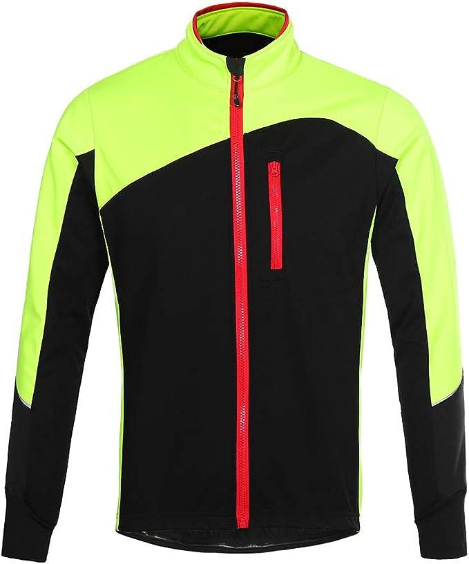Mountain Sports Outdoor Warm Jacket Lixada Mens Winter Fleece Jacket Warm Ski Jacket Coat Windproof /&Waterproof Asian size