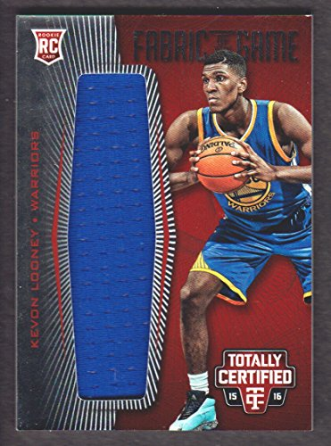 2015-16 Totally Certified Basketball Rookie Fabric Game Jersey Red #KL Kevon Looney 139/199