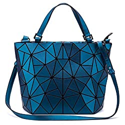 Women Geometric Diamond Quilted Tote