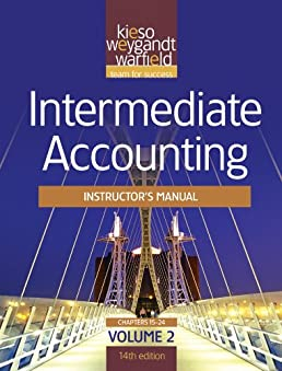 intermediate accounting instructor s manual volume 2 14th edition rh amazon com Intermediate Accounting 12th Edition 6-2 Intermediate Accounting