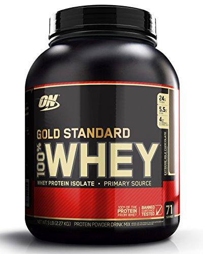 Optimum Nutrition 100% Whey Gold Standard, Extreme Milk Chocolate, 5 Pound