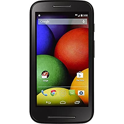 Motorola Moto E Android Prepaid Phone with Triple Minutes (Tracfone)