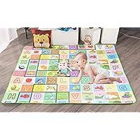 TIB® Alphabet Playmat Waterproof, Anti Skid, Double Sided Baby Crawling Floor Mat, Assorted