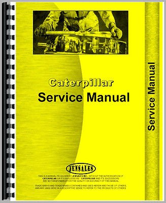 For Caterpillar Hyd Ctls Attch  143  48E1   Up  Service Manual  New