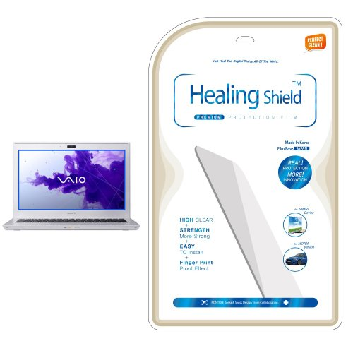 Healingshield AFP Olephobic Premium LCD Screen Protector for Sony Vaio SVZ13115