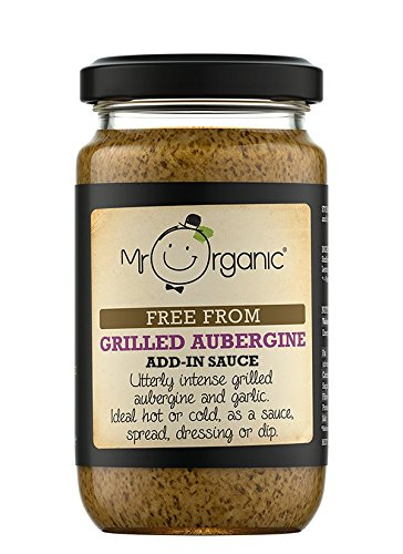Mr Organic Grilled Aubergine Add In 190g - Pack of 4 by Mr Organic (Image #1)