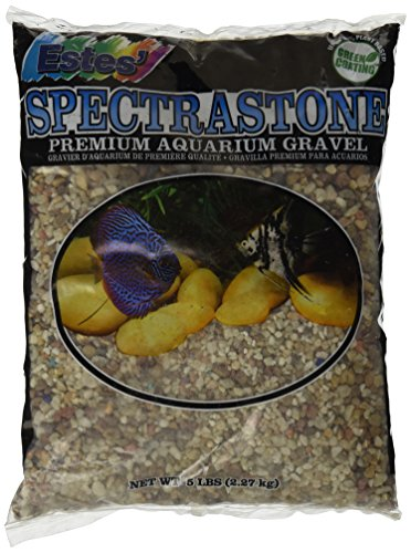 - Spectrastone Nutmeg for Freshwater Aquariums, 5-Pound Bag