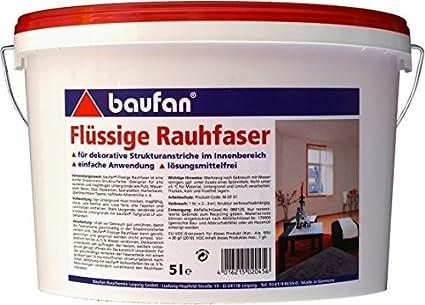 Baufan Flü ssige Rauhfaser 5 Liter
