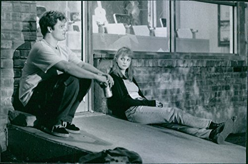 Matured photo of Steve Zahn co-starring with Dina Spybey in the 1997 film, SubUrbia.