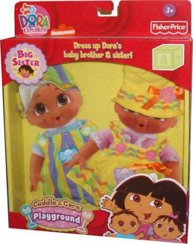 Dora Big Sister Playground Fashions - Dress Dora Doll Up