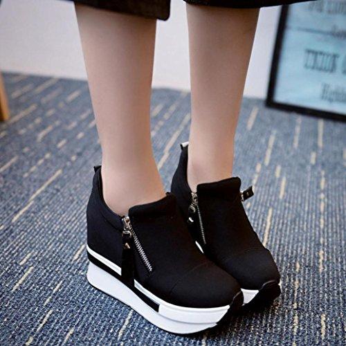 Elegante Negro Sandalias Playa Zapatillas OHQ Plataforma Zapatos Chanclas Zapatos Romanas Moda Deportivos Mujer Verano Casuales Individuales Deporte Zapatos Zapatillas qXTqwrOUtZ