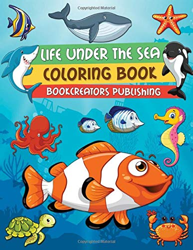 Life Under Sea Coloring Book product image