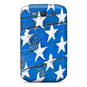 Jasoates EbnMMoJ2925QYziH Case Cover Skin For Galaxy S3 (wood Stars)