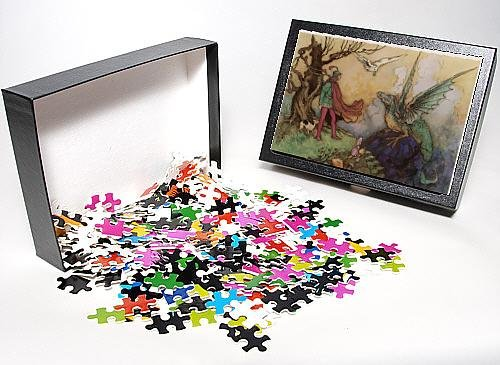 Photo Jigsaw Puzzle of Avenant And Dragon from Mary Evans
