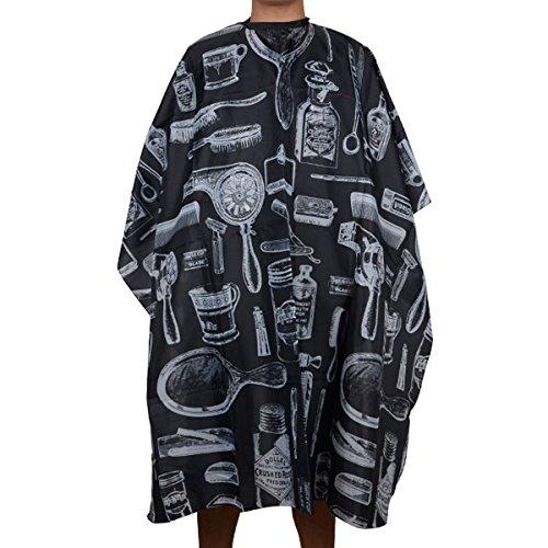 Negro Pro Salon Peluquería Capas para Pelo Herramienta 139 x 116CM Mayitr