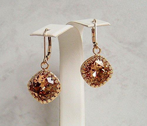 Designer Solitaire Earrings - 7