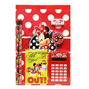 Disney Girls Mickey Mouse 7pc Calculator Set
