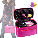 Best Bags For Less Makeup Travel Bags - Fashion Simple Travel Cosmetic Bag for Women Make Review