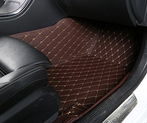 Worth Mats Custom Fit Luxury Xpe Leather Waterproof Floor