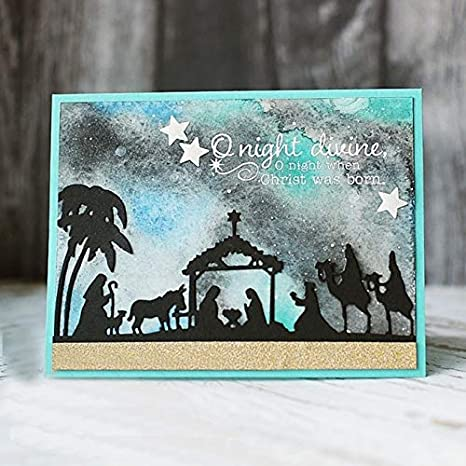 Only Included Dies Metal Cutting Dies and Scrapbooking for Paper Making Christmas Santa Claus Embossing Frame Card Stamps Stampin Up Set Die Cuts