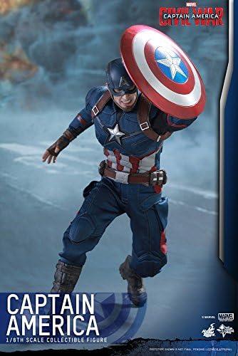 """1//6 SCALA Capitan America Scudo di Steve Rogers in metallo per 12/"""" ACTION FIGURE GIOCATTOLI C"""