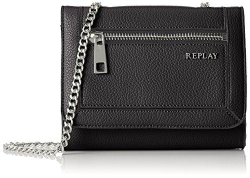 REPLAY Shoppers hombro de bolsos a0180b Black Mujer y 000 Fw3720 Negro pr1PpF