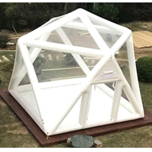 適合寝具に同意する【R.shop】 バブルテント 透明キャンプテント 静音送風 3メートル 5メートル 星観察 天体観察 最適