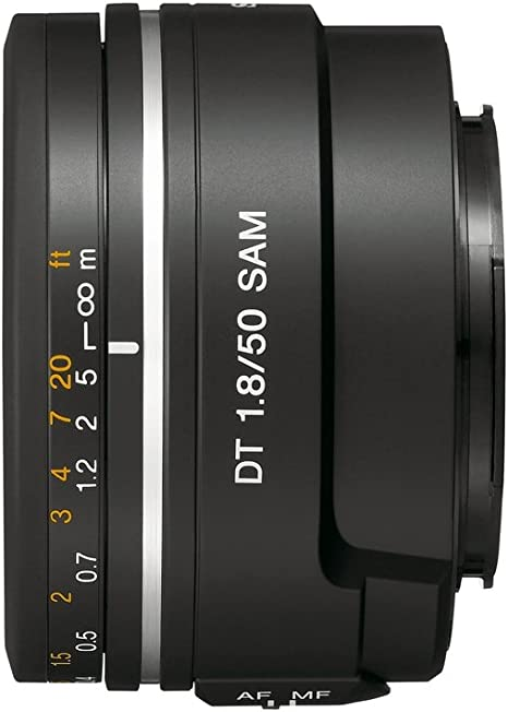 Sony SAL50F18 - Objetivo para Sony (Distancia Focal Fija 50mm ...