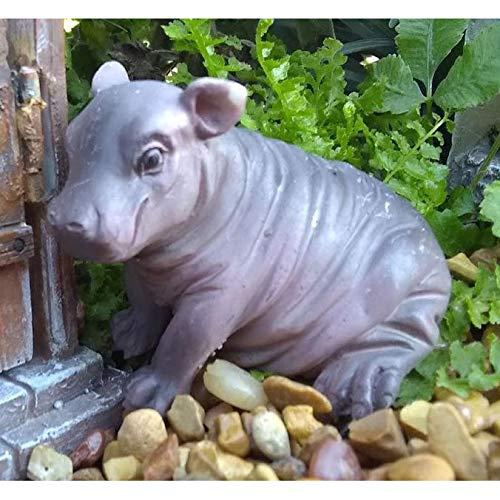 Miniature Fairy Garden Harriet The Hippo