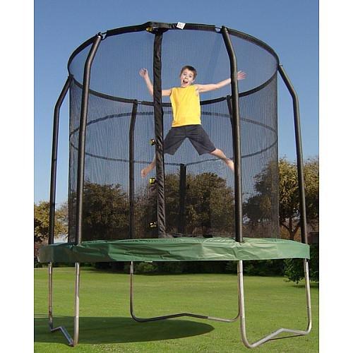 Bazoongi Jump Pod Trampoline with Enclosure, (Bazoongi Trampoline)