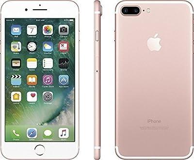 Apple iPhone 7 Plus, GSM Unlocked, 128GB - Rose Gold (Refurbished)