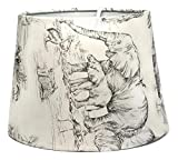 Elephant Safari Lampshade or Ceiling Light Shade Zebra Giraffe Bedroom Nursery 10' Dual Purpose