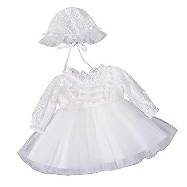 b89908fe1cdf5 Burning Go セレモニードレス ベビー ドレス 帽子付き 裏起毛 もこもこ レース 新生児 ワンピース 赤ちゃん 女児