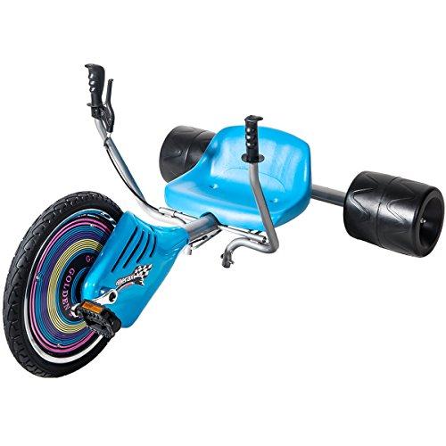 Merax Children's Drift Trike Big Wheel Machine Bikewith 15″ Front Tire
