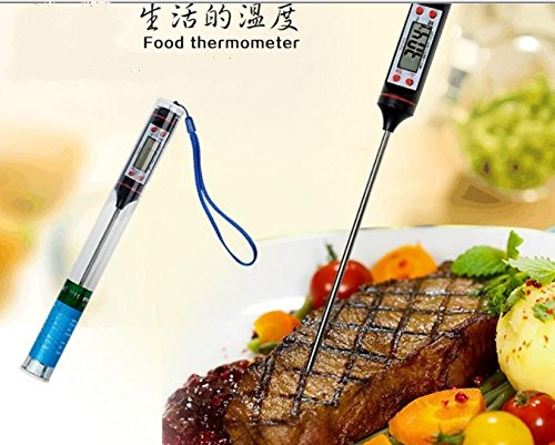 The king's store, electronic thermometer, temperature testing, baby bottles, the temperature of the coffee, steak, roast pork and roast cooking, bath temperature, the thermometer