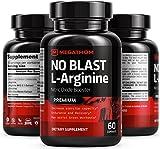 Nitric Oxide Booster | L-Arginine Amino Acids No Blast | 60 Capsules