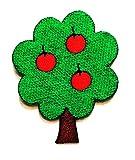 Nipitshop Patches Fashion Tree Apple Fruit Cartoon