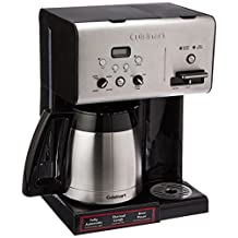Cuisinart CHW-14 10-Cup Thermal Programmable Coffeemaker and Hot Water System, Black
