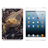 Bearded Dragon - Beardie Lizard Reptile Snap On Hard Protective Case for Apple iPad Mini - White