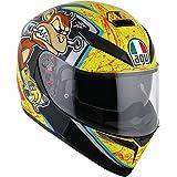 AGV K-3 SV Unisex-Adult Full-Face-Helmet-Style Bulega Helmet (Multi, Medium-Large)