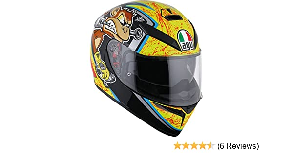 AGV K3 SV Bulega Motorcycle Helmet Size Medium-Large - DOT-Approved
