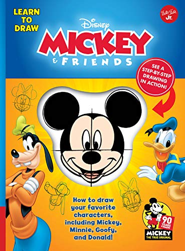 Mickey & Friends: How to draw your favorite characters, including Mickey, Minnie, Goofy, and Donald! (Licensed Learn to Draw) ()