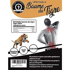 Patch Baume du Tigre Chauffant, Anti Douleur, Anti Inflammatoire, Mal de Dos, Douleurs Musculaires et Articulaires…