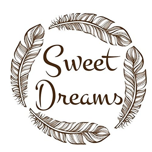 nbnio Sticker for Wall Decoration Sweet Dreams for Bedroom Living Room Home -