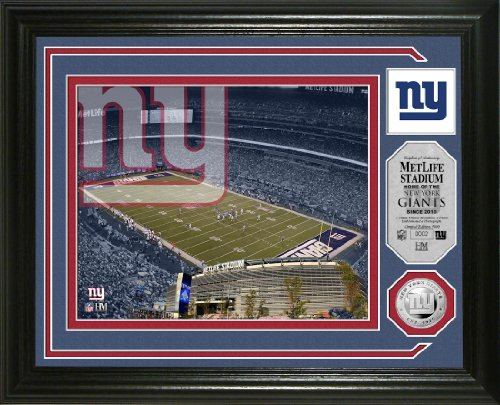 (New York Giants Single Coin Stadium Photo Mint )