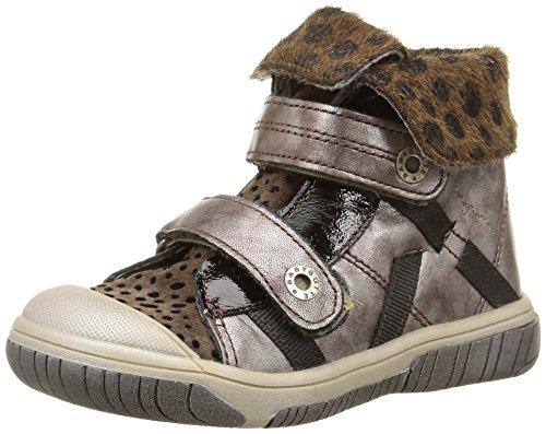 Babybotte Acteur2 - Zapatillas de Deporte de cuero niñas marrón - Marron (415 Noisette Métallisé)