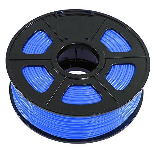 SUNLU 3.00mm ABS 3D Printer Filament, 2.2 LBS (1KG) Spool, Dimensional Accuracy +/- 0.02mm, Blue