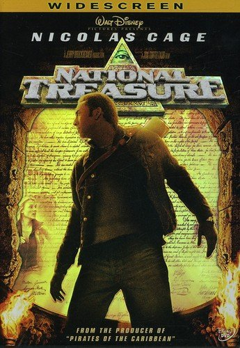 National Treasure (Widescreen) (Bilingual) Nicolas Cage Jon Voight Harvey Keitel Diane Kruger