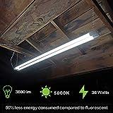 Hykolity 4FT 36W Linkable LED Shop Light with